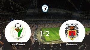 El Mazarrón FC vence 1-2 en el feudo del Los Garres