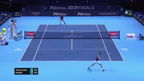 Medvédev echa a Nadal en la semifinal