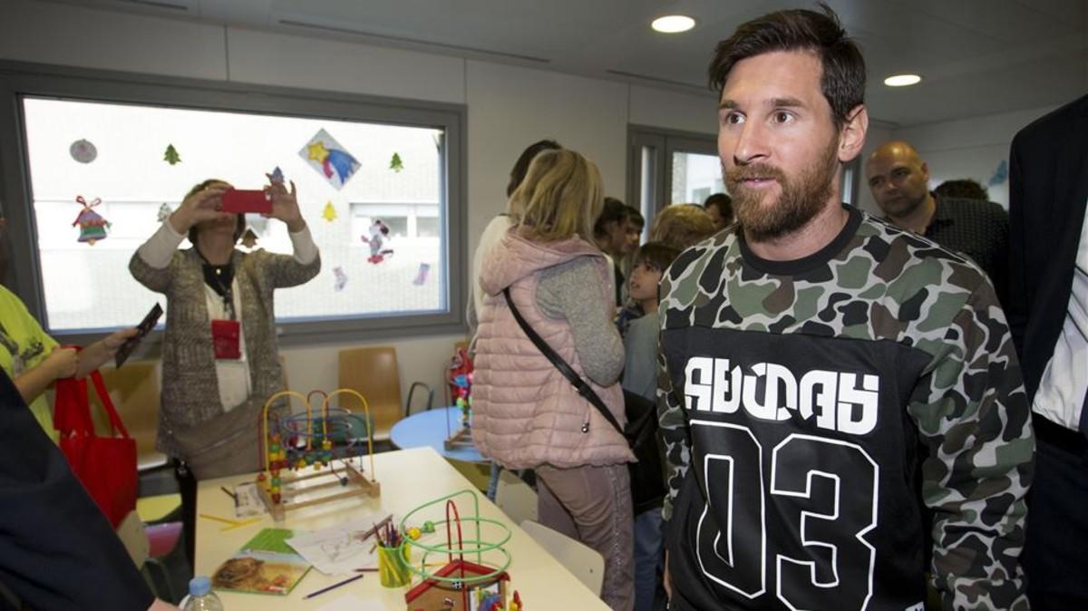 Messi lidera una campaña solidaria contra el cáncer infantil