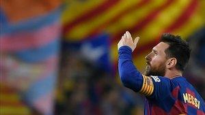 Messi fue, otra vez, el número uno indiscutible
