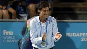 Miki Oca, seleccionador español