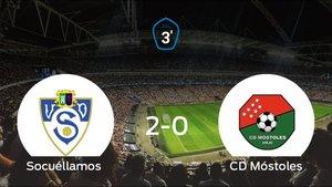 El Móstoles se queda fuera de los playoff tras perder 2-0 ante el Socuéllamos
