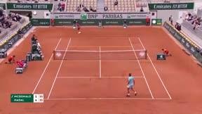 Nadal arrolla a McDonald (6-1, 6-0 y 6-3)
