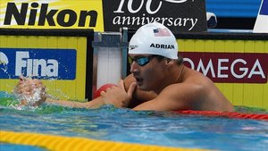 Nathan Adrian en los campeonatos de Budapest