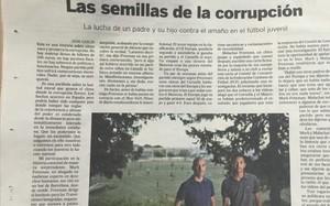 El País destapa en sus páginas el amaño del Gim.Manresa-Cornellà, de cadetes
