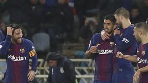 Piqué y Jordi Alba volverán al equipo junto a Messi y Suárez
