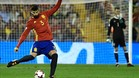 Piqué, en el partido ante Albania
