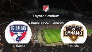 Previa del partido: el FC Dallas recibe al Houston Dynamo en la vigésimo tercera jornada