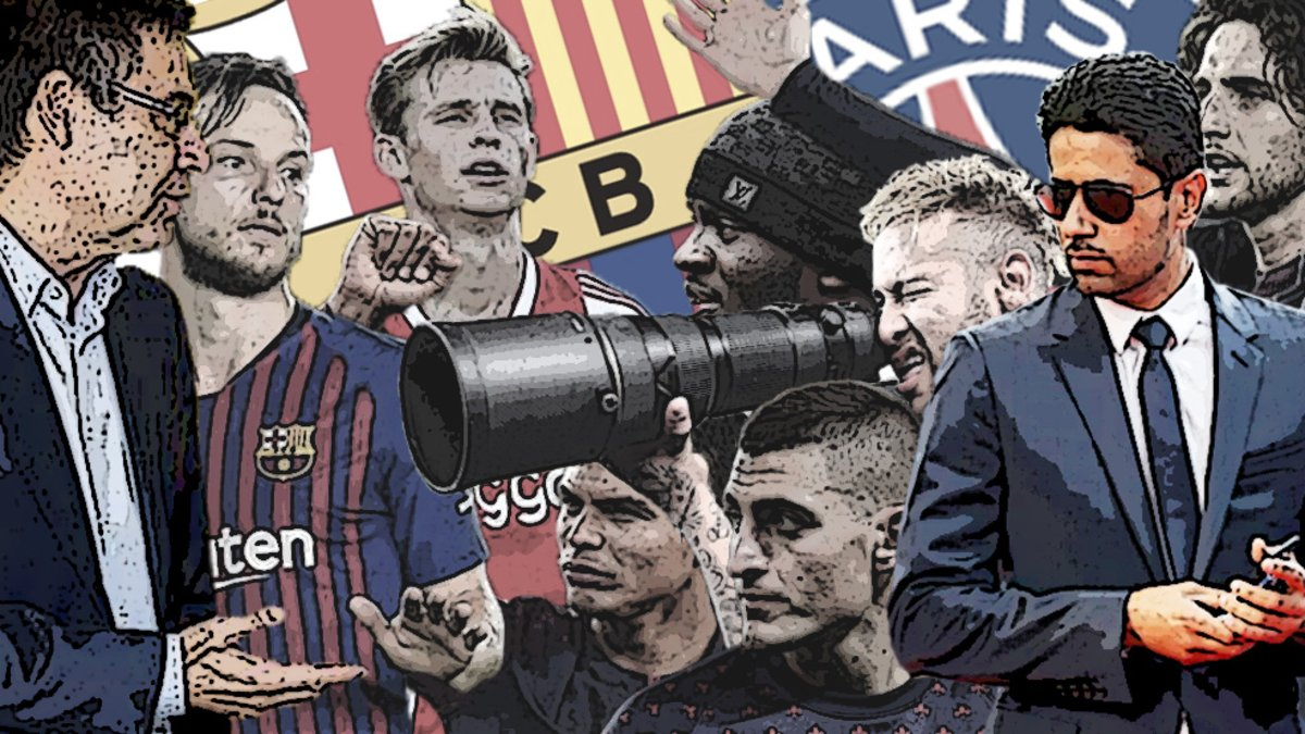 Barca vs PSG, the long story of a never-ending cold war