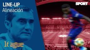 Revolución en el once titular de Valverde ante el Inter