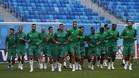 La selección de Marruecos entrenó en el estadio de San Petesburgo