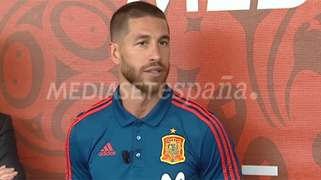 Sergio Ramos zanja la polémica con Salah
