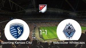 El Sporting Kansas City y el Vancouver Whitecaps consiguen un punto tras empatar a 1 en su último partido