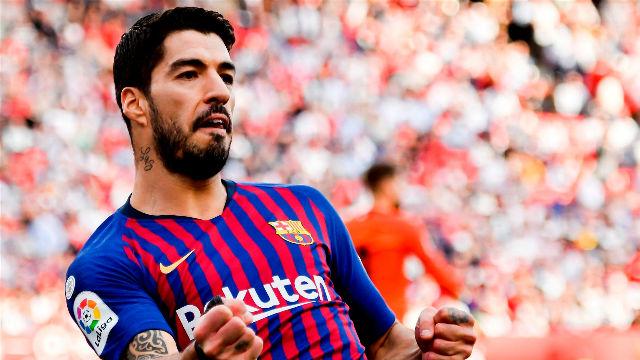 Suárez puso la guinda a la goleada tras una delicatessen de Messi