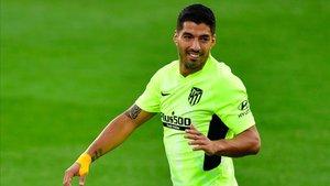 Suárez tuvo una de las oportunidades más claras del partido.