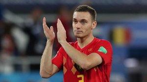 Thomas Vermaelen ha entrado en la lista de la selección belga