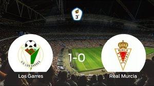 Triunfo del Los Garres por 1-0 ante el Real Murcia B