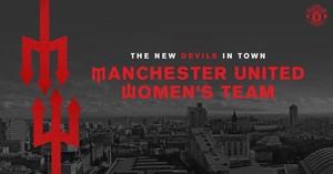 El United presentará a su equipo de futbol femenino