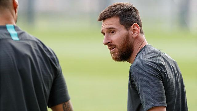 Valverde: Esperamos que Messi pueda jugar en Granada