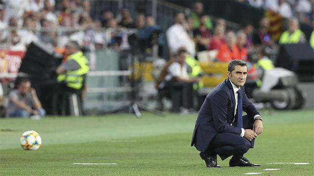 Valverde: Hace 15 días estábamos pensando en el triplete