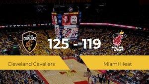 Victoria de Cleveland Cavaliers en el Rocket Mortgage Fieldhouse ante Miami Heat por 125-119