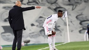 Vinicius volvió a marcar para el Madrid