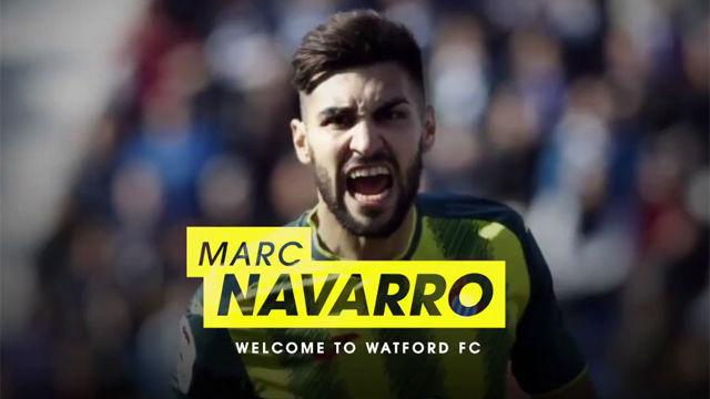El Watford anuncia el fichaje de Marc Navarro
