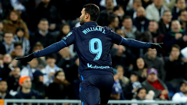 Wilian José aprovechó un error grave de Ramos para marcar el 0-1 en el minuto 2