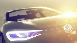 Avance del nuevo SUV de VW, que se presentará en Shanghái.