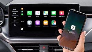 Apple CarPlay sin cables en Skoda.