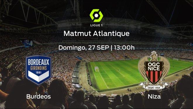 Previa del encuentro: el FC Girondins Burdeos recibe en su feudo al OGC Niza