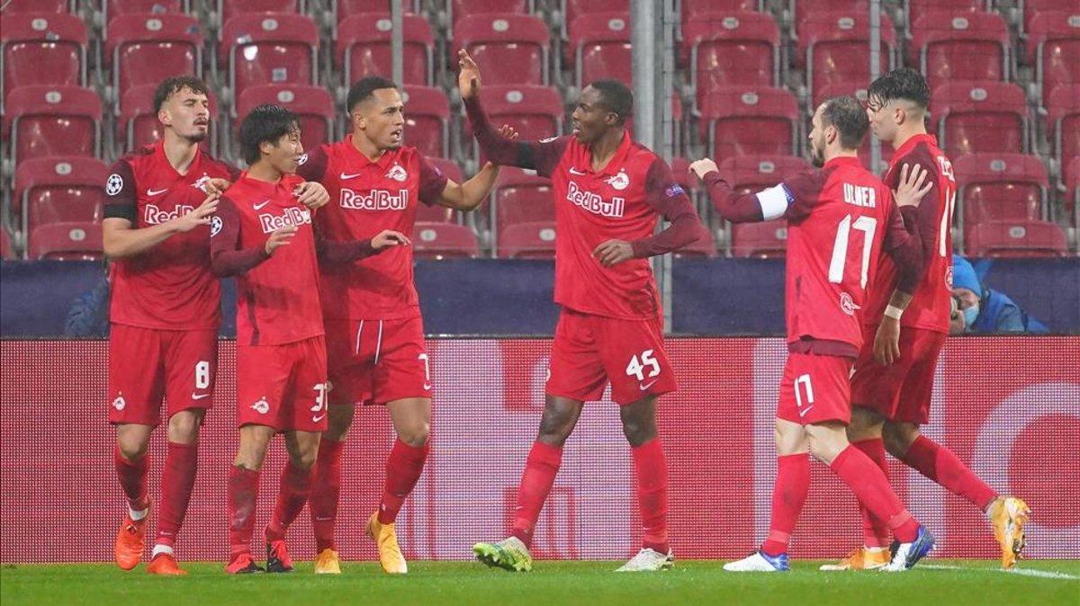 RB Salzburgo reporta un brote de COVID-19 en su equipo, seis jugadores dieron positivo a las pruebas este lunes