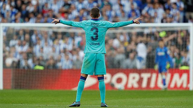 El 1x1 del Barça ante la Real Sociedad