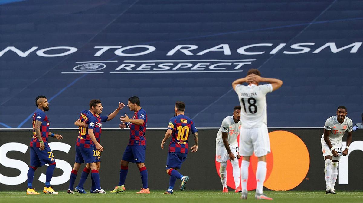 ¡Alaba le da una vida extra al Barça!. Así narró la radio el gol del Bayern en propia puerta