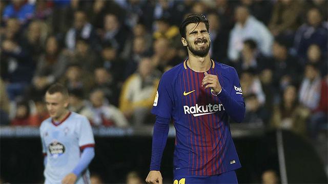 André Gomes: En el Barcelona me puse mucha presión a mí mismo