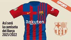 Así sera el proyecto de la camiseta azulgrana para la temporada 2021-2022