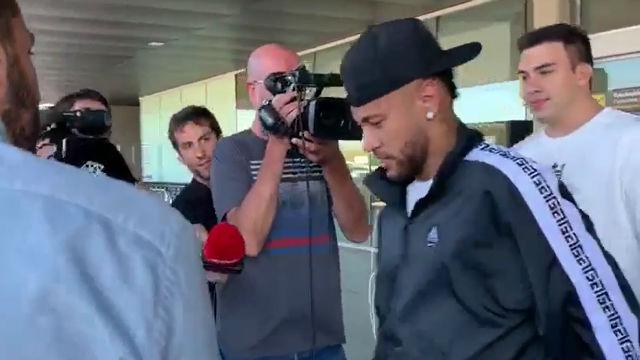 Así ha sido la llegada de Neymar a Barcelona
