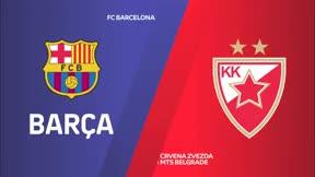El Barça vuelve a ganar pese a los esfuerzos del Estrella Roja