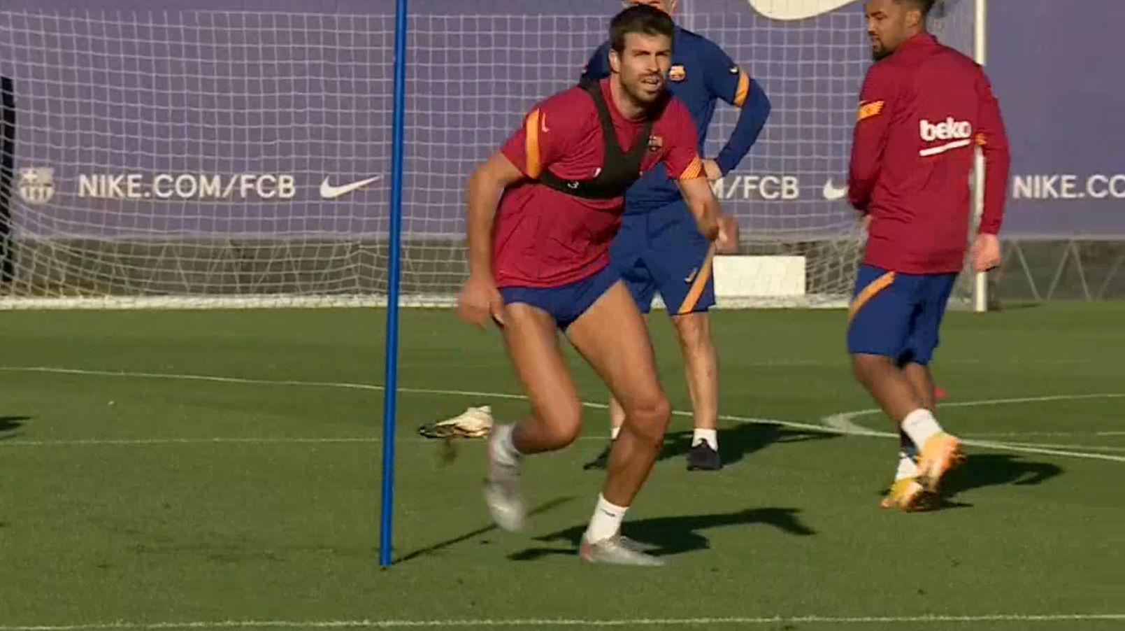 El Barcelona regresa a los entrenamientos todavía sin internacionales