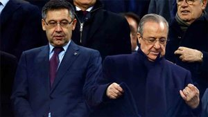 Bartomeu y Florentino estarán el lunes en Madrid