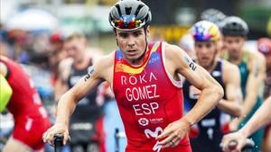 Buen debut de Gómez Noya en un Ironman