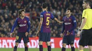 Carles Aleñá y Riqui Puig pueden tener por fin su oportunidad