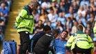 El central se lesionó en la última victoria del Manchester City en el Etihad Stadium