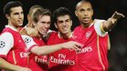Cesc y Henry coincidieron en el Arsenal