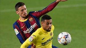 Coquelin, en pugna con Lenglet, es baja por lesión en el Villarreal