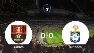 El Cortes y el Burladés empatan y se llevan un punto (0-0)