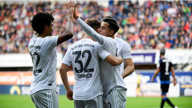 Coutinho maravilla a la afición del Bayern con goles como este
