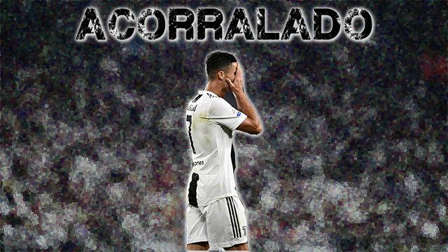 Cristiano Ronaldo, acorralado
