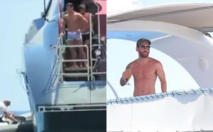 Cristiano Ronaldo y Leo Messi, en sus vacaciones en Ibiza