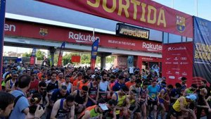 La Cursa Barça batió el récord de participación
